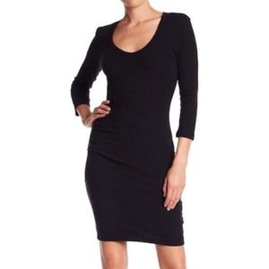 James Perse black dress size 1